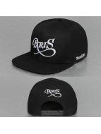 TrueSpin snapback cap Paris City zwart
