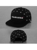 TrueSpin Snapback Caps Fearless czarny