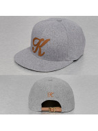 TrueSpin Snapback Caps ABC-K Wool grå