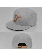 TrueSpin Snapback Caps ABC-T Wool grå