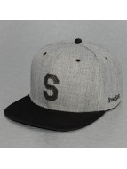 TrueSpin Snapback Caps ABC-S Wool grå