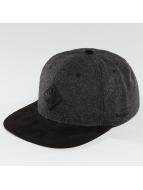 TrueSpin Snapback Caps Rubber Taper grå