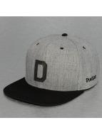 TrueSpin Snapback Caps ABC-D Wool harmaa