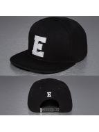 TrueSpin Snapback Caps E-ABC musta