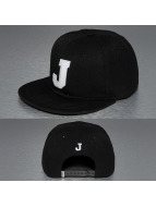 TrueSpin Snapback Caps J-ABC musta