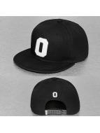 TrueSpin Snapback Caps O-ABC musta