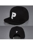 TrueSpin Snapback Caps P-ABC musta