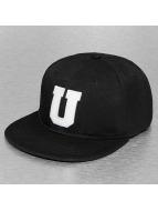 TrueSpin Snapback Caps U-ABC musta