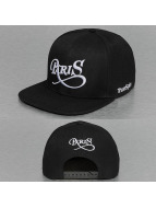 TrueSpin Snapback Caps Paris City musta