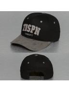 TrueSpin Snapback Caps Round Visor TRSPN Fleece musta