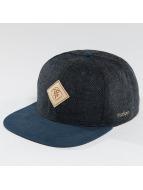 TrueSpin Snapback Caps Chevron niebieski