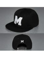 TrueSpin Snapback Caps M-ABC svart