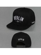 TrueSpin Snapback Caps Berlin City svart