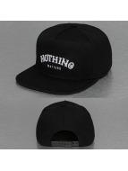 TrueSpin Snapback Caps Nothing Matters svart
