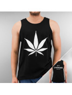 TrueSpin Tank Tops Cannabis No.1 черный