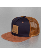 TrueSpin trucker cap Velvet blauw