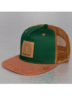 TrueSpin trucker cap Velvet groen