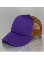 TrueSpin Trucker Cap 2 Tone Blank purple