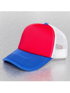 TrueSpin trucker cap 3 Tone Blank rood