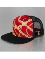 TrueSpin trucker cap Chains rood