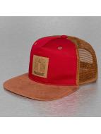 TrueSpin trucker cap Velvet rood