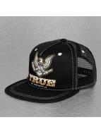 TrueSpin trucker cap Security zwart