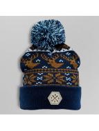 TrueSpin Wintermütze Deer blau