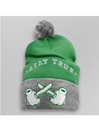 TrueSpin Wintermütze Pom Knifes grün