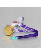 Tubelaces Аксессуар для обуви Flat Splatter пурпурный