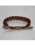 Tubelaces Браслет TubeBlet коричневый