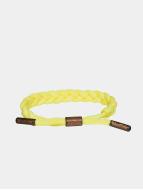 Tubelaces armband TubeBlet geel