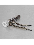 Tubelaces Lacetschaussures White Flat Lux noir