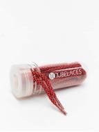 Tubelaces Snørrebånd Rope Multi rød