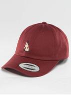 TurnUP Snapback Caps Broke červený