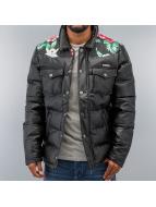 Two Angle Зимняя куртка Geopard черный