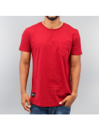 Two Angle t-shirt Montaly rood