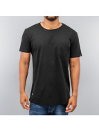 Two Angle t-shirt Montaly zwart