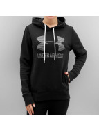 Under Armour Bluzy z kapturem Favorite Fleece Sportstyle czarny