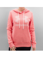 Under Armour Bluzy z kapturem Favorite Fleece Sportstyle pink
