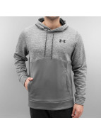 Under Armour Bluzy z kapturem Storm Armour Fleece Icon Twist szary