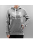 Under Armour Bluzy z kapturem Favorite Fleece Sportstyle szary