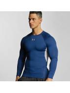 Under Armour Camiseta de manga larga Heatgear Compression azul