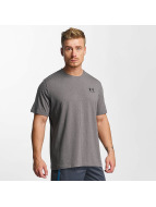 Under Armour Charged Cotton Left Chest Lockup T-Shirt Carbon Heather/Red