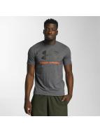 Under Armour Camiseta Charged Cotton Sportstyle Logo negro