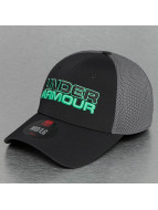 Under Armour Flexfitted Cap Logo schwarz