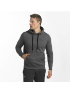 Under Armour Rival Fitted Hoody Carbon Heather/Black
