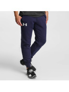 Under Armour joggingbroek Rival Cotton blauw