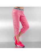 Under Armour joggingbroek Favorite Fleece Capri pink