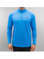 Under Armour Longsleeve Tech Heatgear 1/4 blauw