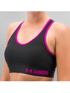Under Armour ondergoed Armour Mid Solid Bra zwart